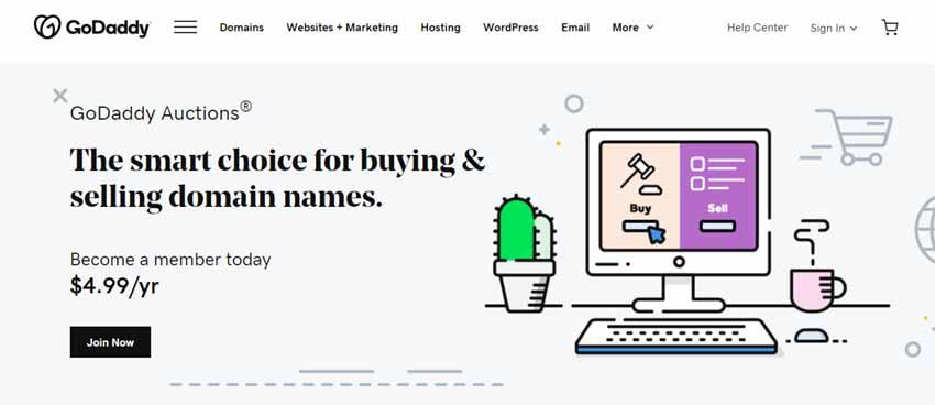 make money online selling domain
