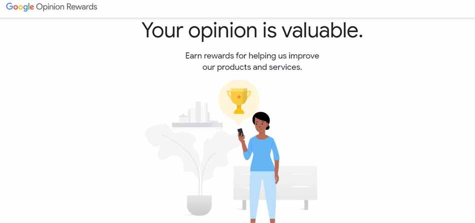 sign up google opinion rewards